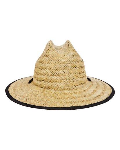 3 Boys' Tides Print Hat Grey BAHWTBTB Billabong