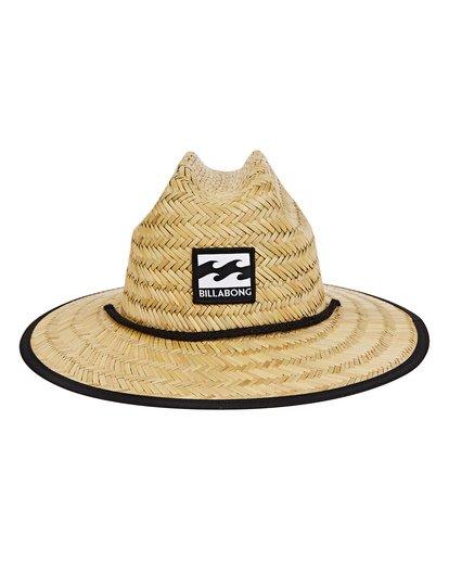 1 Boys' Tides Print Hat Grey BAHWTBTB Billabong