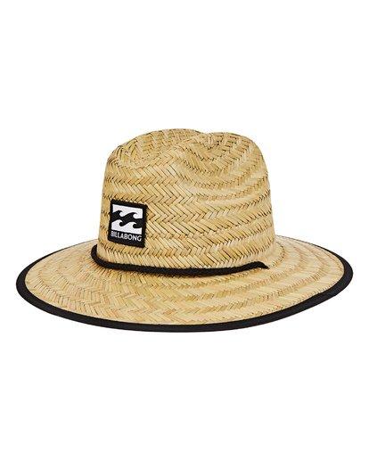 0 Boys' Tides Print Hat Grey BAHWTBTB Billabong