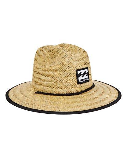 2 Boys' Tides Print Hat Grey BAHWTBTB Billabong