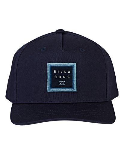 1 Boys' Stacked Snapback Hat Blue BAHWVBAS Billabong