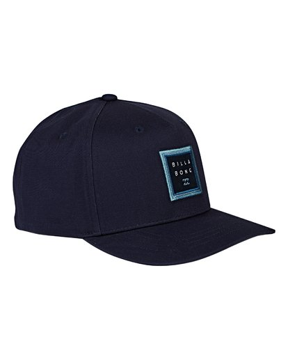 2 Boys' Stacked Snapback Hat Blue BAHWVBAS Billabong