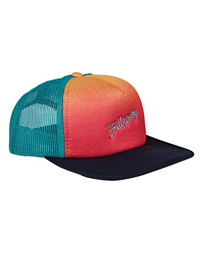 2 Boys' Eighty Six Trucker Hat Blue BAHWVBES Billabong