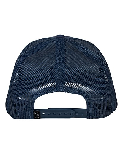 3 Boys' Walled Trucker Hat Blue BAHWVBWA Billabong