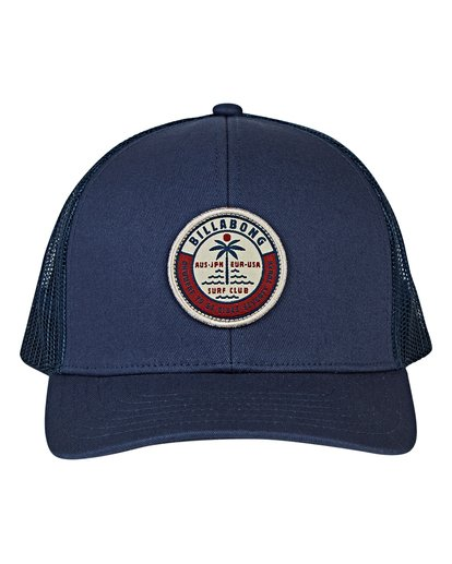 1 Boys' Walled Trucker Hat Blue BAHWVBWA Billabong