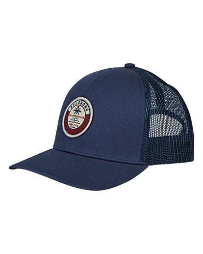 0 Boys' Walled Trucker Hat Blue BAHWVBWA Billabong