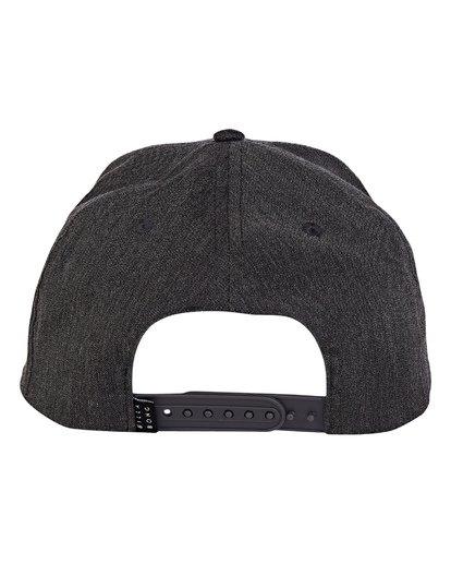 3 Boys' All Day Snapback Hat Grey BAHWWBAS Billabong