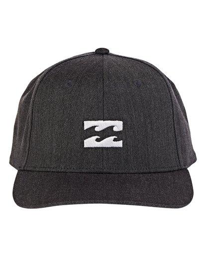 1 Boys' All Day Snapback Hat Grey BAHWWBAS Billabong