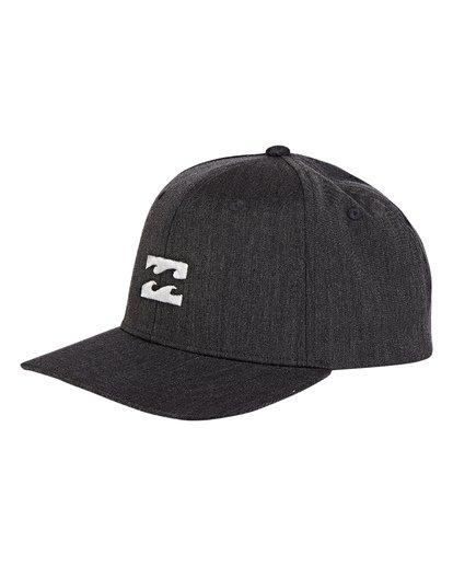 0 Boys' All Day Snapback Hat Grey BAHWWBAS Billabong