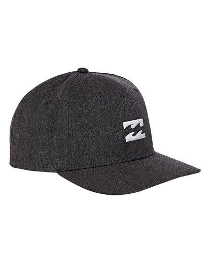 2 Boys' All Day Snapback Hat Grey BAHWWBAS Billabong