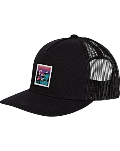 1 Boys' Stacked Trucker Hat Multicolor BAHWWBST Billabong