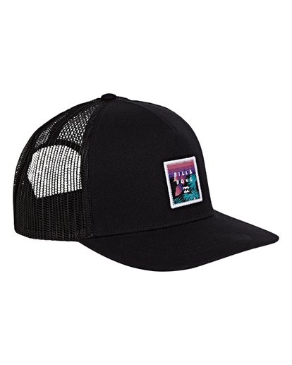 2 Boys' Stacked Trucker Hat Multicolor BAHWWBST Billabong