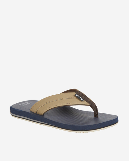 0 Boys' All Day Impact Sandals Blue BFOT1BAD Billabong