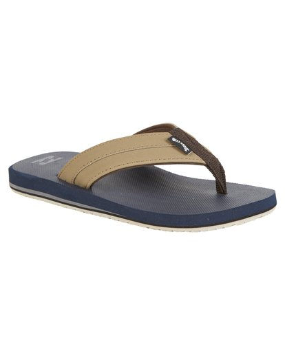 2 Boys' All Day Impact Sandals Blue BFOT1BAD Billabong