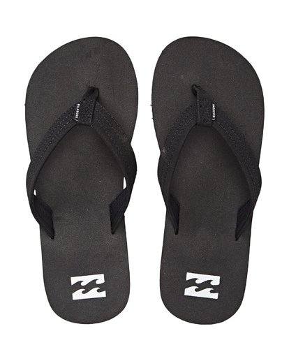 3 Boys' Stoked Sandals Black BFOTNBST Billabong