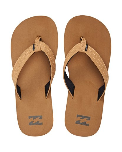3 Boys' Stoked Sandals Yellow BFOTNBST Billabong