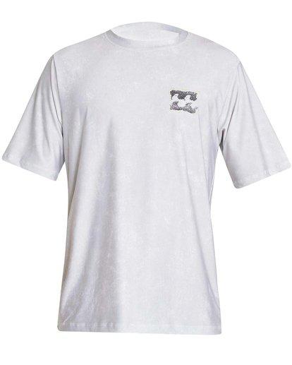 0 Boys' Riot Lf Short Sleeve Rashguard Grey BR05NBRL Billabong