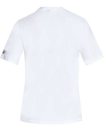 1 UNION LF SS White BR06TB01 Billabong