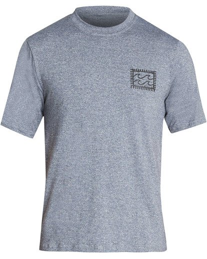 0 Boys' Nairobi Loose Fit Short Sleeve Rashguard Grey BR24TBNA Billabong