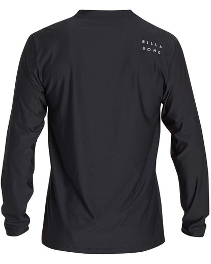 1 Boys' All Day Mesh Lf Ls Rashguard Black BR53NBAM Billabong