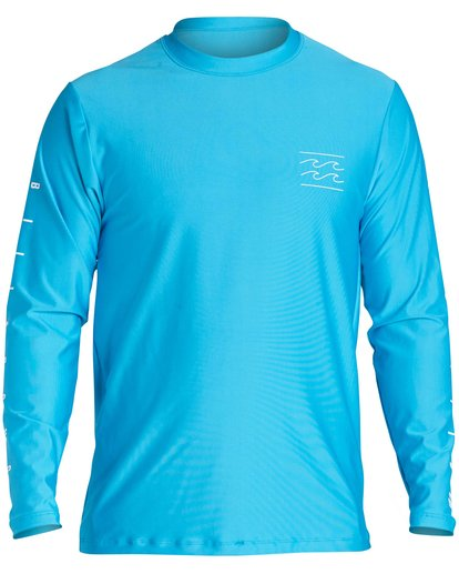 0 UNITY SLEEVE LF LS Blue BR55QBUL Billabong