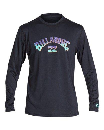 0 Boys' Bunker Loose Fit Long Sleeve Surf Shirt Black BR591BBK Billabong