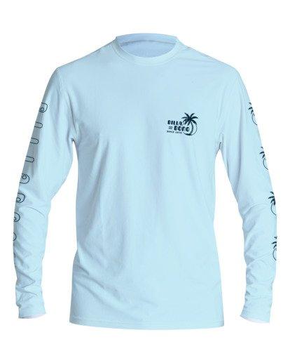 0 Boys' Social Club Loose Fit Long Sleeve Surf Shirt Brown BR591BSC Billabong