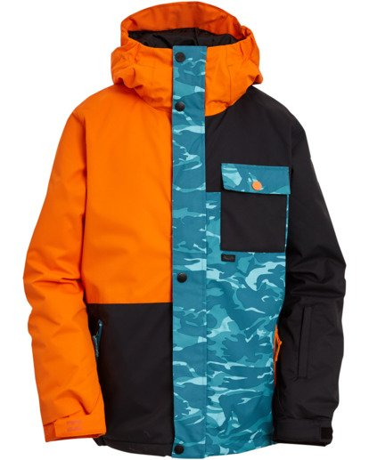 0 Boys' Arcade Snow Jacket Grey BSNJ3BAR Billabong