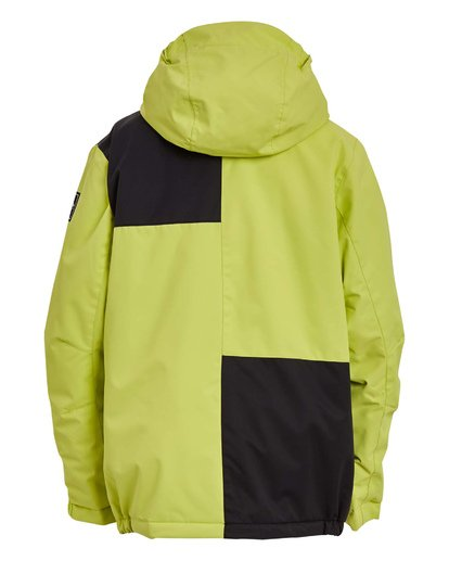 5 Boys' Arcade Snow Jacket Green BSNJ3BAR Billabong