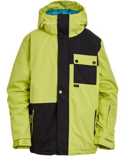 4 Boys' Arcade Snow Jacket Green BSNJ3BAR Billabong
