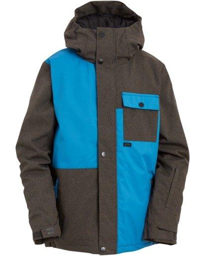 0 Boys' Arcade Snow Jacket Blue BSNJ3BAR Billabong