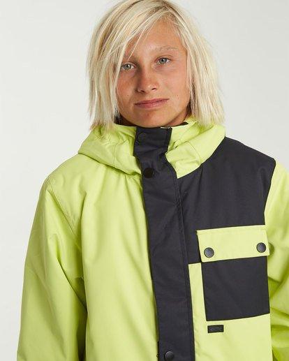 3 Boys' Arcade Snow Jacket Green BSNJ3BAR Billabong
