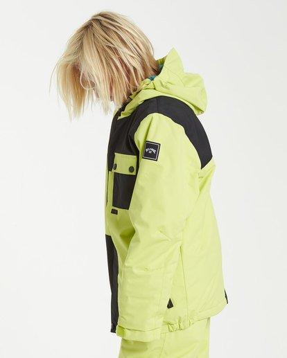 1 Boys' Arcade Snow Jacket Green BSNJ3BAR Billabong