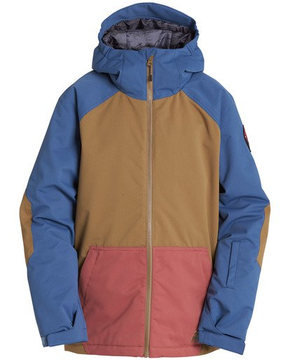 0 Boys' All Day Outerwear Jacket Yellow BSNJQADI Billabong