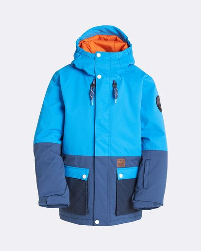 6 Boys' Fifty 50 Outerwear Jacket Blue BSNJQFIF Billabong