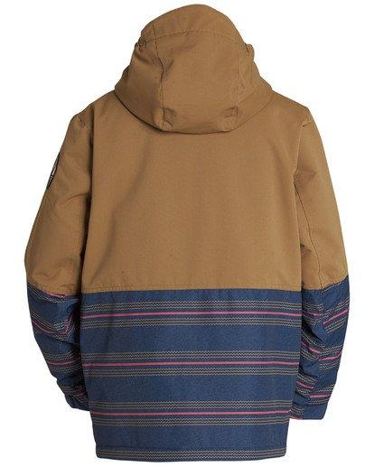 1 Boys' Fifty 50 Outerwear Jacket Yellow BSNJQFIF Billabong