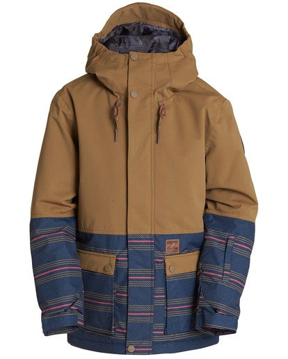 0 Boys' Fifty 50 Outerwear Jacket  BSNJQFIF Billabong