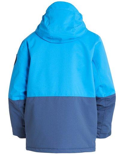 1 Boys' Fifty 50 Outerwear Jacket Blue BSNJQFIF Billabong