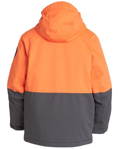 1 Boys' Fifty 50 Outerwear Jacket Orange BSNJQFIF Billabong