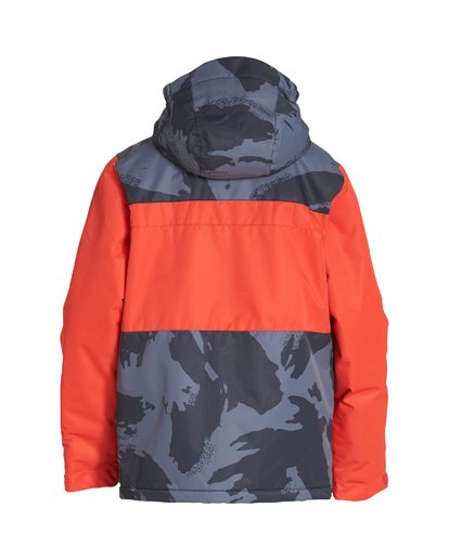 1 Boy's All Day Jacket Orange BSNJVBAD Billabong