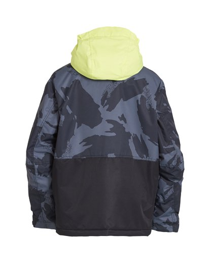 1 Boy's Fifty 50 Jacket Yellow BSNJVBFF Billabong