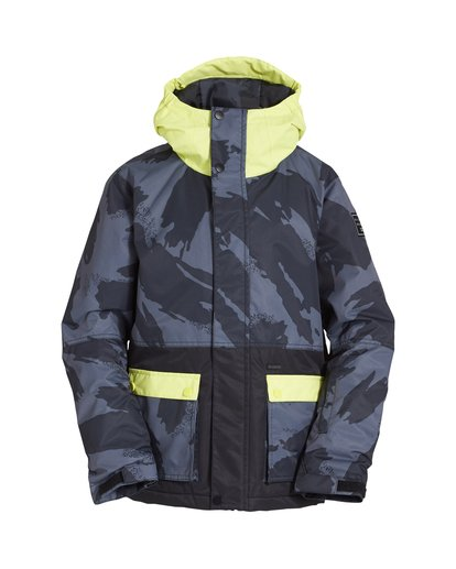 0 Boy's Fifty 50 Jacket Yellow BSNJVBFF Billabong