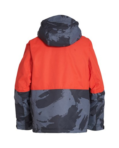 1 Boy's Fifty 50 Jacket Orange BSNJVBFF Billabong
