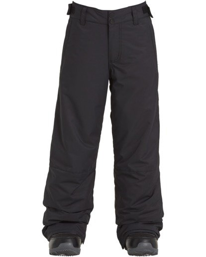 1 Boys' Snow Pant Black BSNP3BGP Billabong