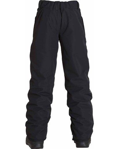 2 Boys' Grom Snow Pants Black BSNPLGRM Billabong