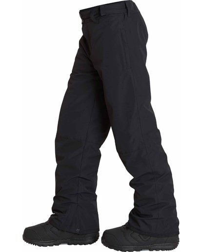 1 Boys' Grom Snow Pants Black BSNPLGRM Billabong
