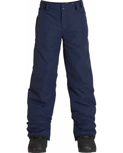 0 Boys' Grom Snow Pants Blue BSNPLGRM Billabong