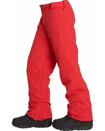 1 Boys' Grom Snow Pants Red BSNPLGRM Billabong