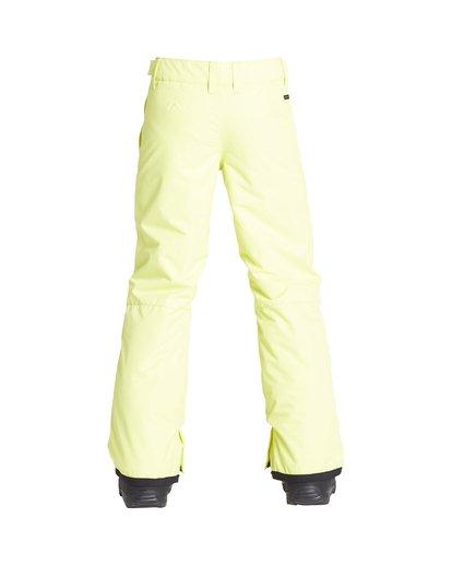 2 Boy's Outerwear Pant Yellow BSNPVBGP Billabong