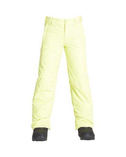 0 Boy's Outerwear Pant Yellow BSNPVBGP Billabong